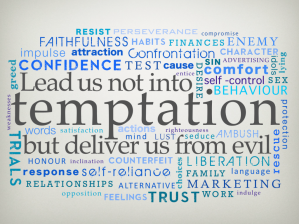 Word Cloud from Coventry Vineyard's series on the LORD's Prayer (Nick Sutton)