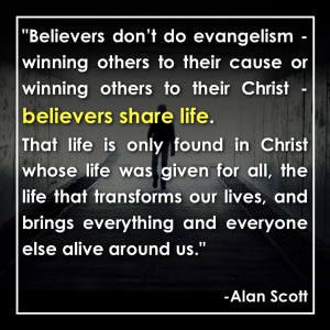 Believers share life